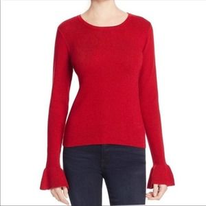 Cupcakes and Cashmere Tina Bell Sleeve Sweater